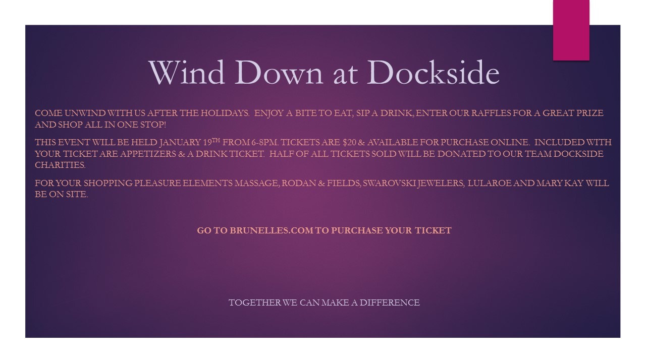 Wind Down at Dockside